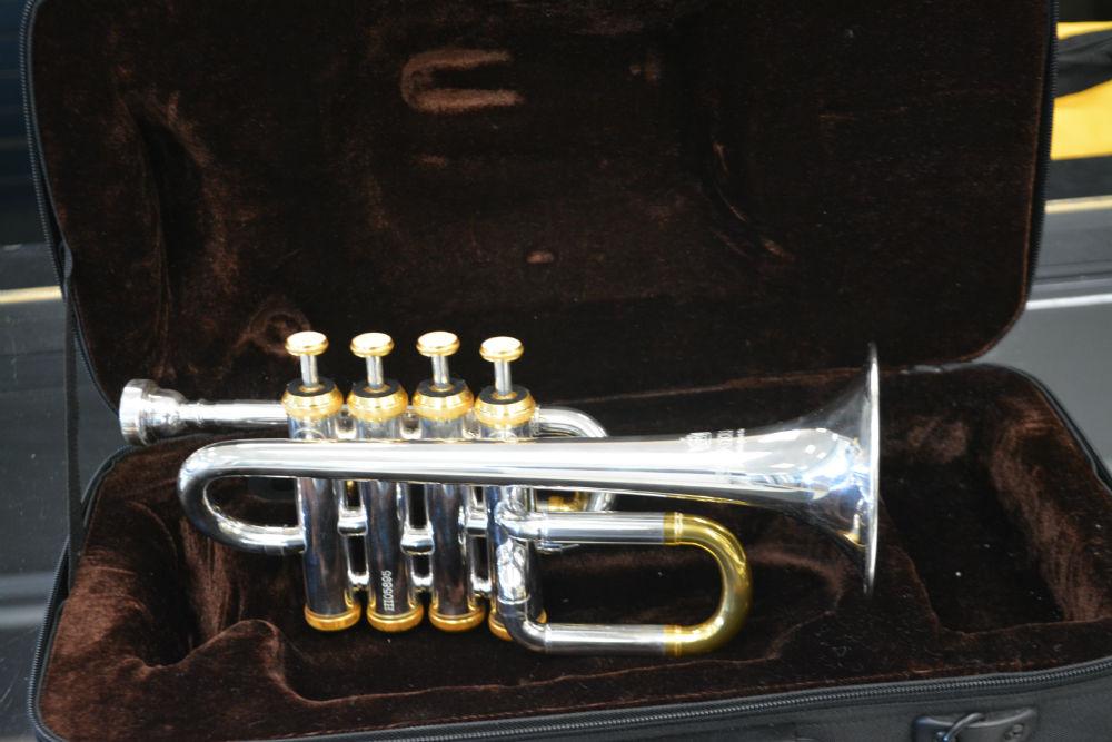 Schiller Piccolo Trumpet Silver/Gold
