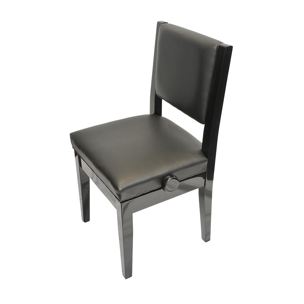 Frederick Economy Adjustable Piano Chair - Ebony Polish