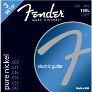 FENDER?? ORIGINAL PURE NICKEL 150 GUITAR STRINGS - .009-.042 - 3-PACK