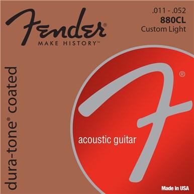 Fender 80/20 COATED ACOUSTIC GUITAR STRINGS - .011-.052