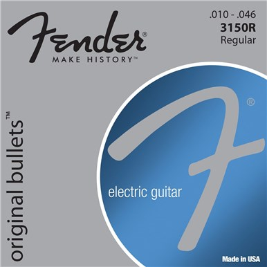 FENDER 3150 ORIGINAL BULLETS™ - PURE NICKEL BULLET ENDS - .010-.046