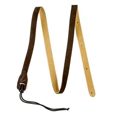 Fender?? Mandolin Strap - Brown Suede
