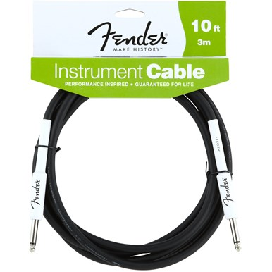 FENDER?? 10 ft PERFORMANCE SERIES INSTRUMENT CABLE (STRAIGHT-STRAIGHT)