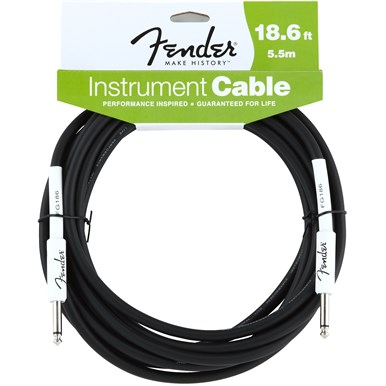 FENDER?? 18.6 ft PERFORMANCE SERIES INSTRUMENT CABLE (STRAIGHT-STRAIGHT)