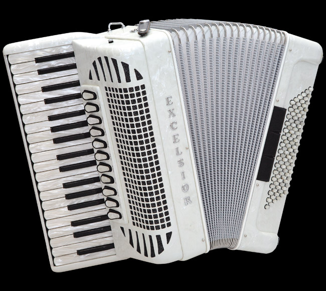 Excelsior 1304BCS 96 Bass Piano Accordion
