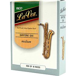 Rico La Voz Baritone Saxophone Reeds