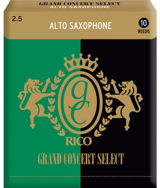Rico Grand Concert Alto Saxophone Reeds - Box of 10