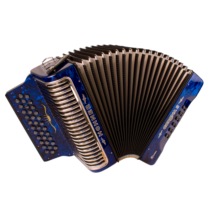 Hohner Corona II XTREME ADG, Pearl Dark Blue
