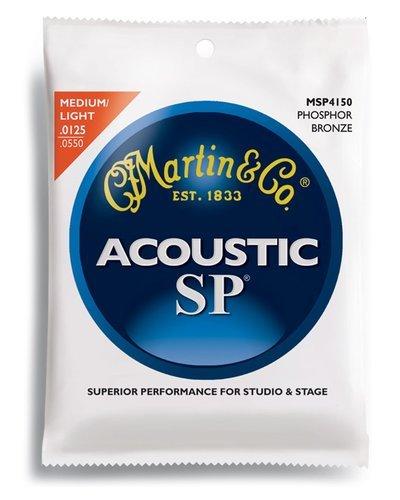 Martin MSP4150 SP Phosphor Bronze Acoustic Guitar Strings, Light-Medium