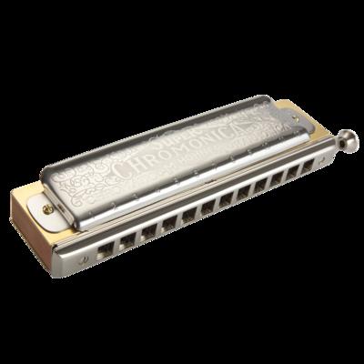 Hohner Chromatic Harmonica Super Chromonica w/ retail box package