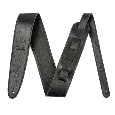 Fender?? Artisan Crafted Leather Guitar Strap - Black - 2 Inch
