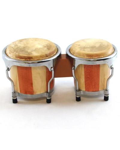 Trixon Mini Striped Bongo Set - 4
