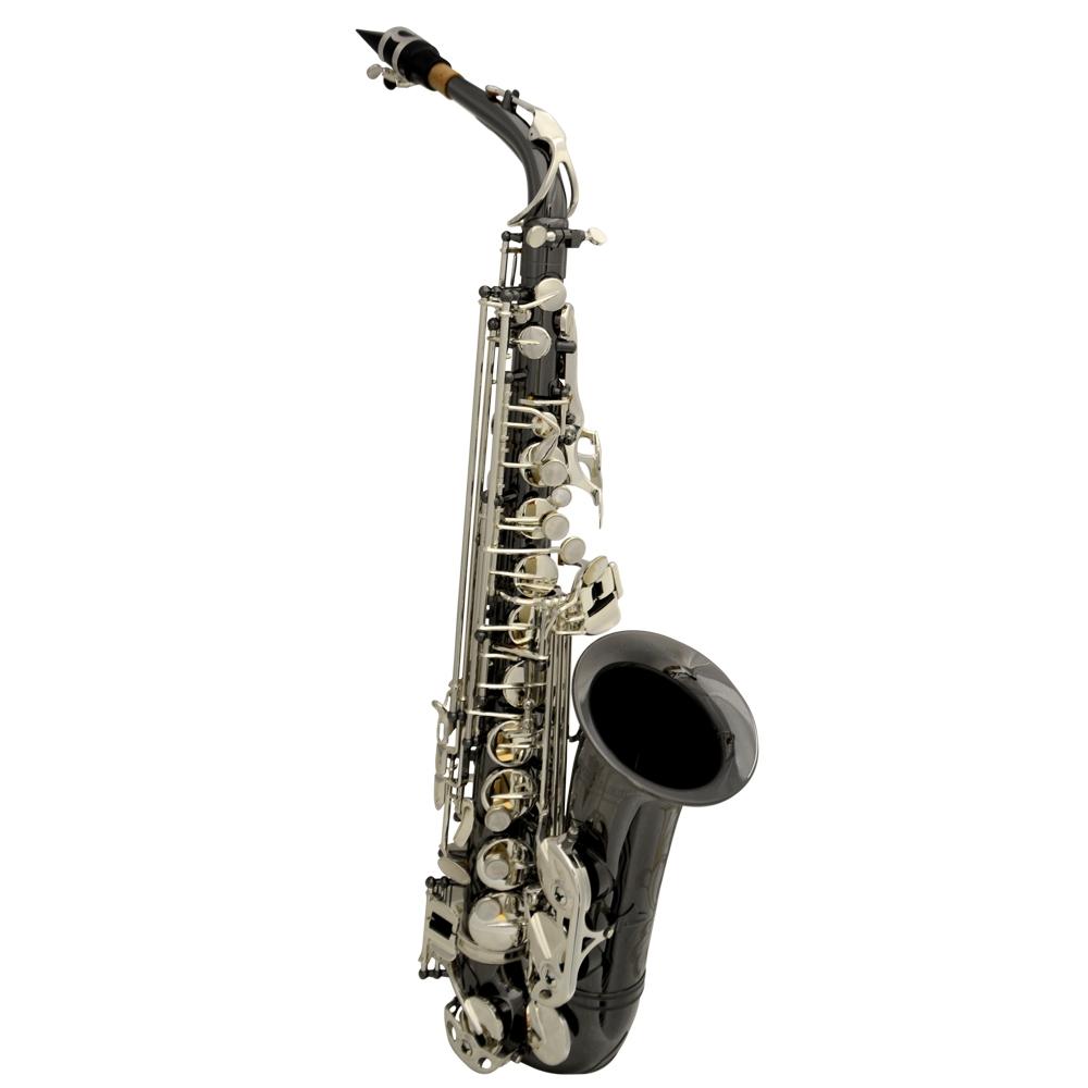 Schiller La Première Alto Saxophone - Black Nickel & Silver