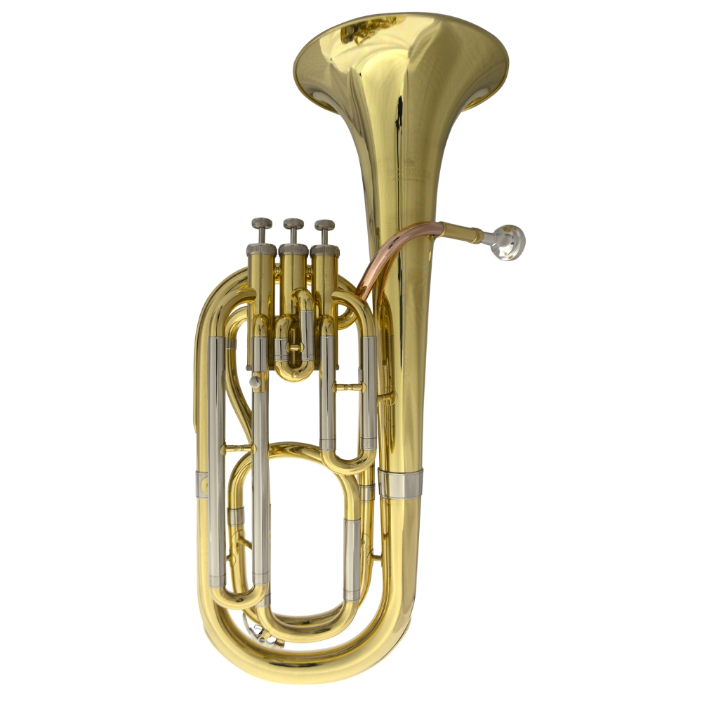 Schiller Berkshire Elite Baritone Gold w/Rose Leadpipe