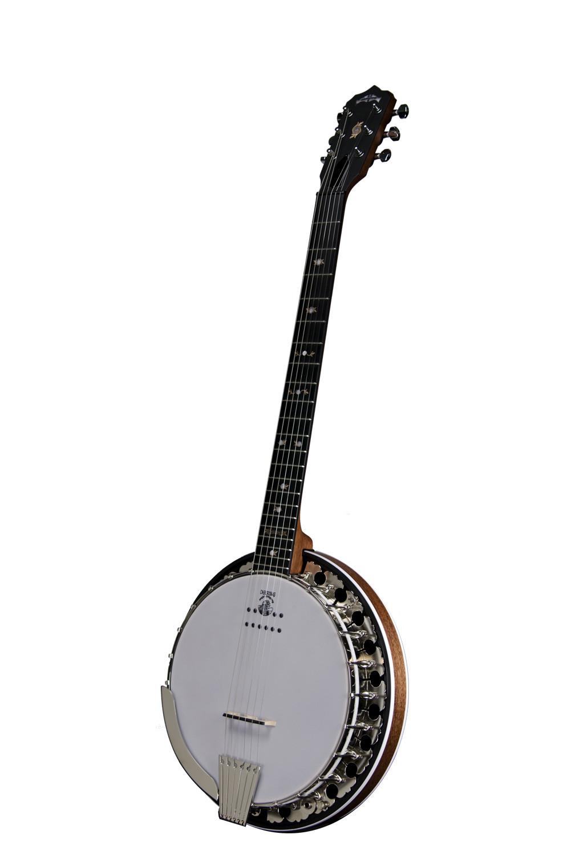 Deering Boston™ 6-String Acoustic Electric Banjo