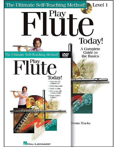 Play Flute Today Book CD/DVD