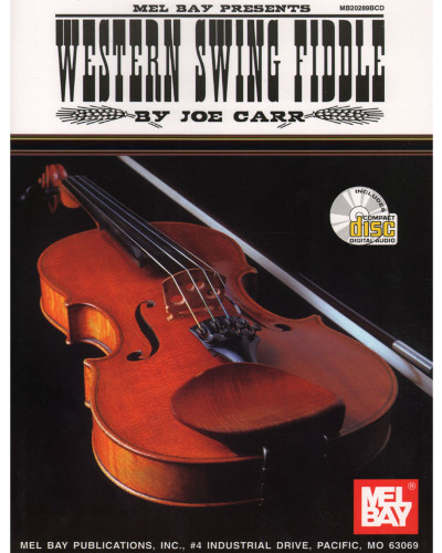 Western Swing Fiddling Book and CD