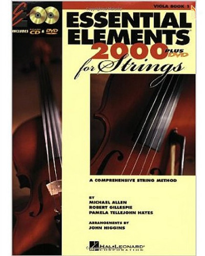 Essential Elements 2000 for Strings Viola Book I with CD/DVD