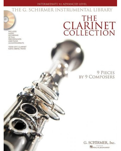 The Clarinet Collection Intermediate to Advanced Book and CD