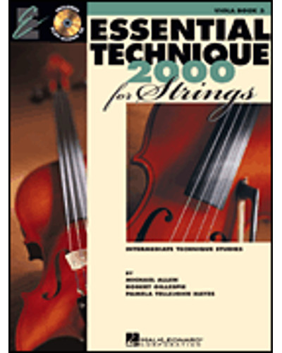 Essential Technique 2000 for Strings Viola Book III and CD
