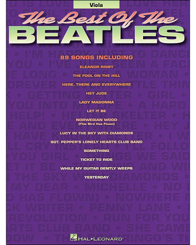 The Best of the Beatles for Viola