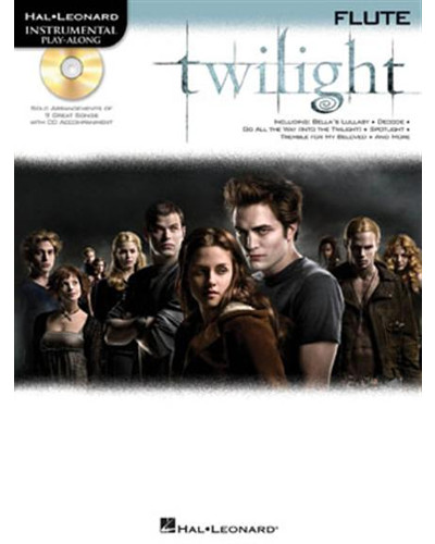 Twilight Instrumental Playalong for Flute Book and CD