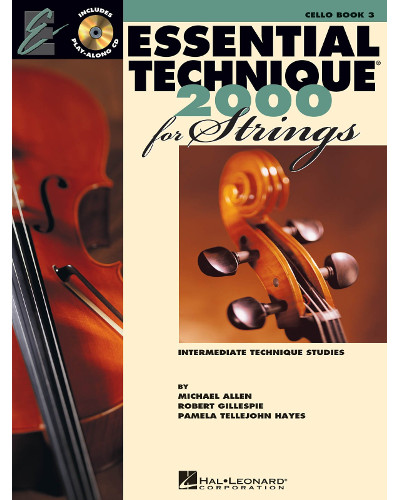 Essential Technique 2000 for Strings Cello Book III and CD