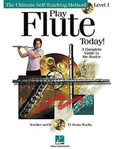 Play Flute Today Book and CD