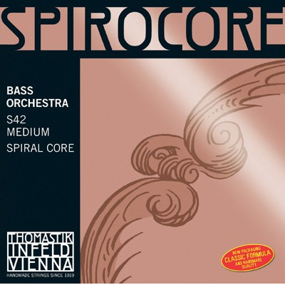 Thomastik Spirocore Orchestral Tuned Bass String Set