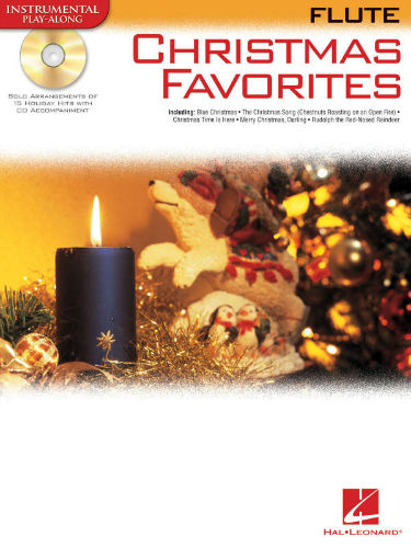 Christmas Favorites Playalong for Flute Book and CD