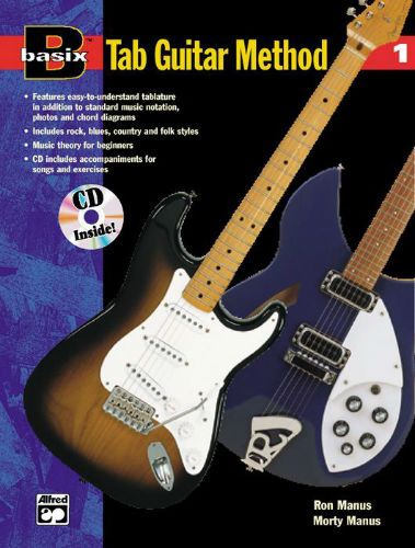 Alfred Basix TAB Guitar Method 1 Book and CD