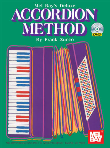 Deluxe Accordion Method Book and DVD for Piano Accordion