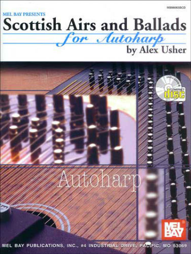 Scottish Airs and Ballads for Autoharp Book and CD