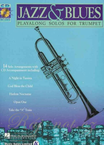 Jazz and Blues Playalong for Trumpet