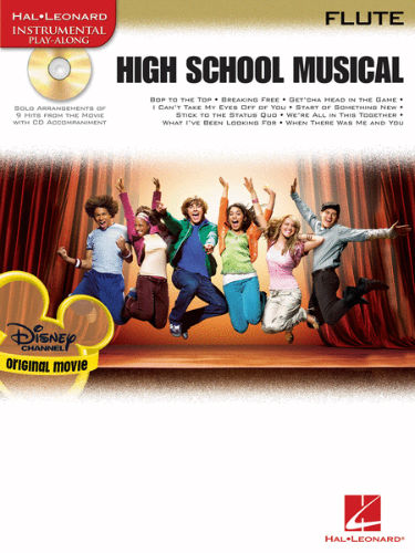 High School Musical Flute Book and CD