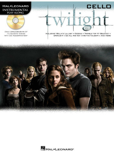 Twilight Instrumental Playalong for Cello Book and CD