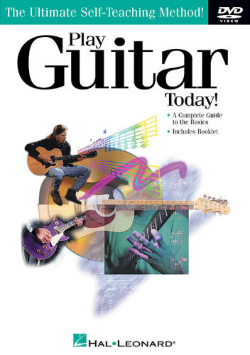 Play Guitar Today Book and DVD/CD