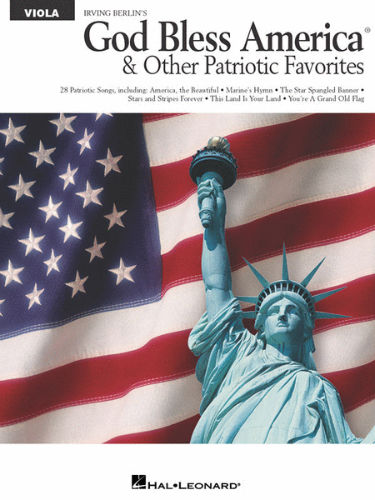 God Bless America and other Patriotic Favorites for Viola