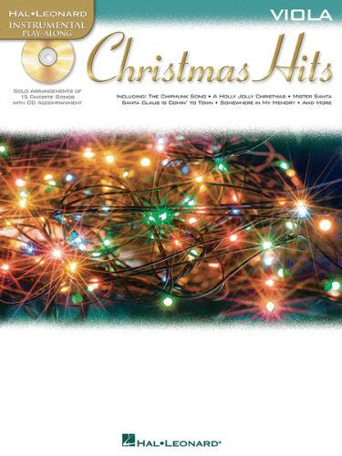 Christmas Hits Instrumental Playalong for Viola Book and CD