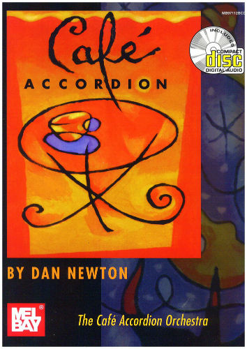 Cafe Accordion Book and CD