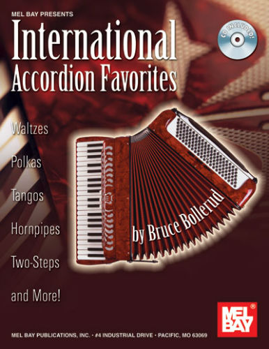 International Accordion  ( Piano ) Favorites Book and CD