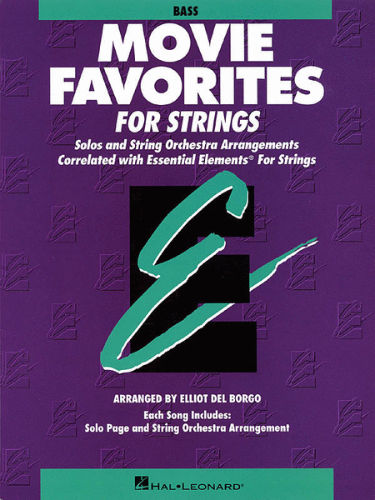 Movie Favorites for Strings - Bass