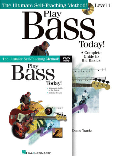 Play Bass Today Book and CD/DVD