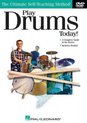 Play Drums Today Book and CD/DVD