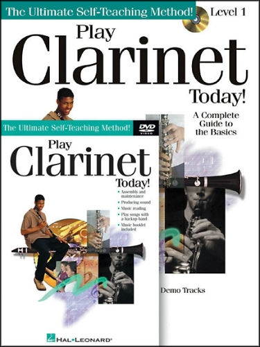 Play Clarinet Today Book CD/DVD