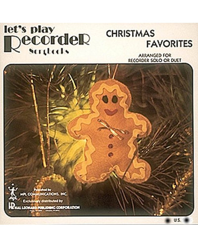 Lets Play Recorder Christmas Favorites