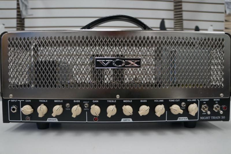 Vox Model NT50H Nighttrain 50 Watt Tube Amp head