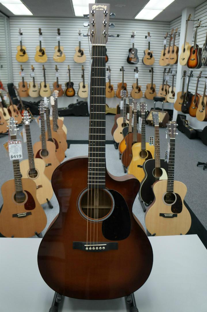 Martin GPCA4 Shaded Acoustic Guitar