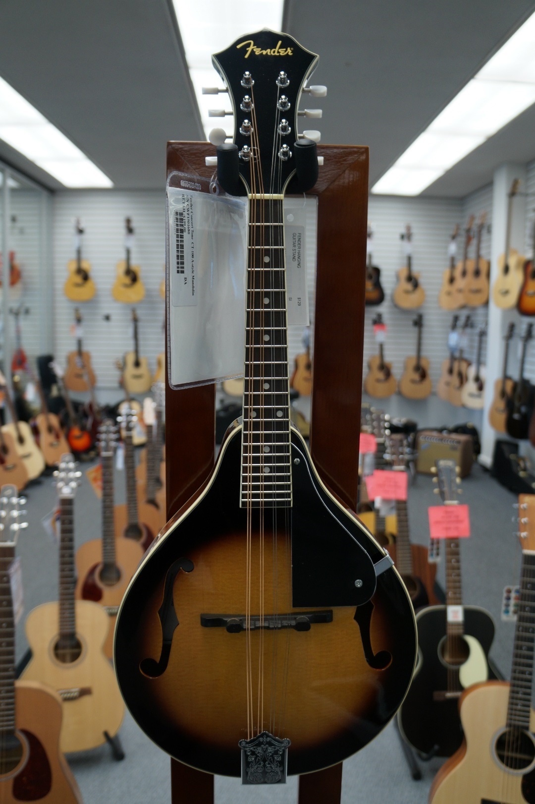 Fender® Concert Tone A-Style Mandolin