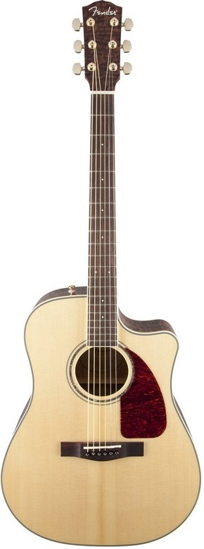 Fender CD-220SCE Ash Burl Acoustic-Electric Guitar